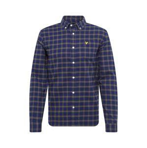 Lyle & Scott Košile  námořnická modř / olivová