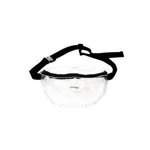 SPIRAL Ledvinka 'BUM BAG 12'  černá / průhledná