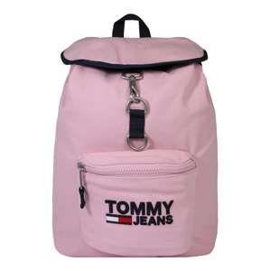 Tommy Jeans Batoh 'TJW Heritage'  růžová / černá